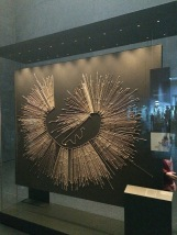 Quipas - used to store/ record information. Data was stored in the type, position and quantity of the knots. This quipu has 586 cords and holds 15024 items of data