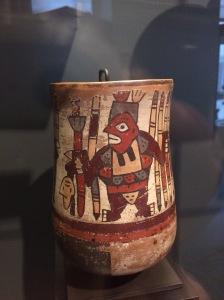 Multicoloured painting of ceramics